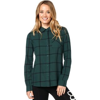 Fox Roost Flannel emerald