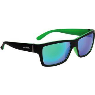 Alpina Kacey, black matt green/Lens: ceramic mirror green - Sonnenbrille