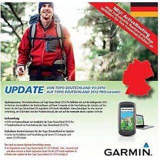 Garmin Topo Deutschland 2012 Pro Gesamt Update (DVD) - Karte