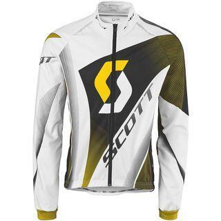 Scott AS RC Pro plus Jacket, white/yellow rc - Radjacke