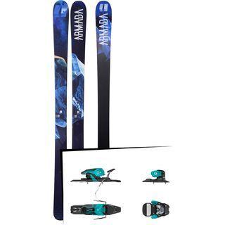 Set: Armada Invictus 95 2018 + Salomon Warden 11 turquoise/black