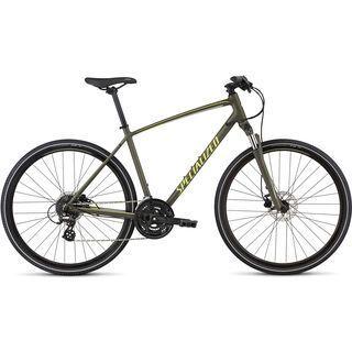 Specialized Crosstrail Disc 2017, green/spruce - Fitnessbike