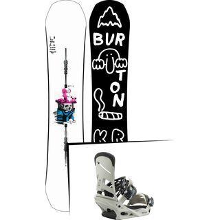 Set: Burton Kilroy Process 2019 + Burton Mission bone