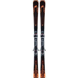 K2 SKI Disruption STi 2021, black-flo orange - Alpinski