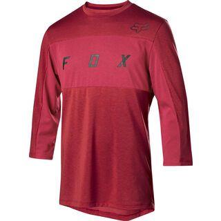 Fox Ranger Drirelease 3/4 Jersey, cardinal - Radtrikot