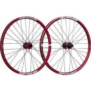 Spank Spike Race 28 Wheelset 26, red - Laufradsatz
