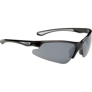 Alpina Levity, black/Lens: ceramic mirror black - Sportbrille