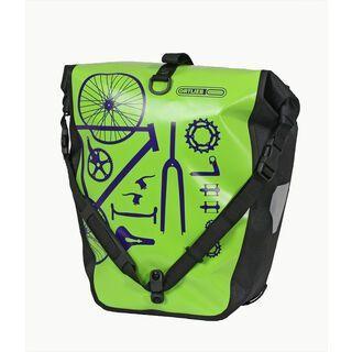 Ortlieb Back-Roller Design Parts, limone-schwarz - Fahrradtasche