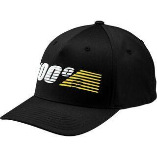 100% Starlight Flexfit Hat, black - Cap