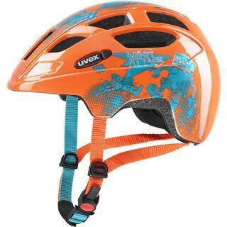 uvex finale junior, orange robot - Fahrradhelm