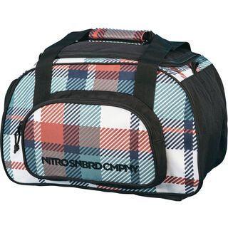 Nitro Duffle Bag XS, meltwater plaid - Sporttasche