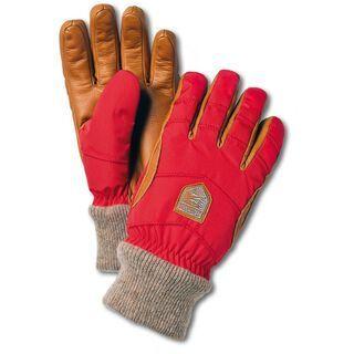 Hestra Swisswool Merino Loft 5 Finger, light red/cork - Skihandschuhe