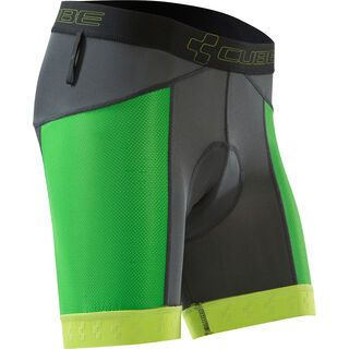 Cube Innenhose Trail, anthracite´n´green´n´lime