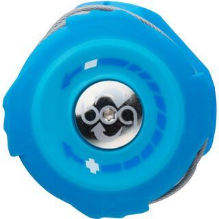 Specialized S2-Snap Boa Kit Left & Right Dials with Lace, neon blue - Zubehör