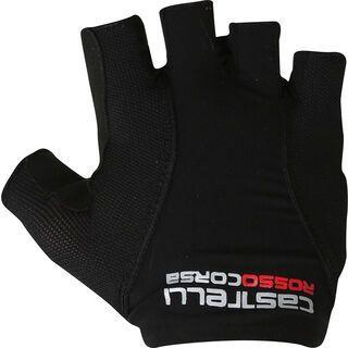 Castelli Rosso Corsa Pave Glove, black/white - Fahrradhandschuhe