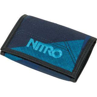 Nitro Wallet, fragments blue - Geldbörse