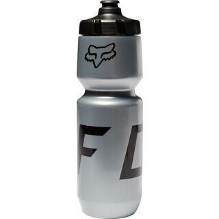 Fox Purist Water Bottle Moth, silver - Trinkflasche