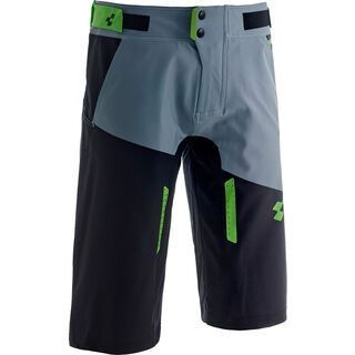 Cube Action Shorts Essentials, black´n´grey´n´green - Radhose