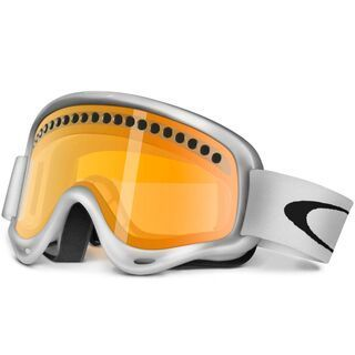 Oakley O Frame Europe Exclusive, Matte White/Persimmon - Skibrille