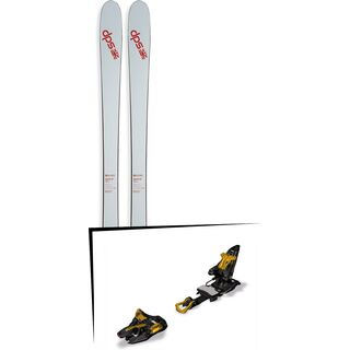 DPS Skis Set: Cassiar 85 Pure3 2016 + Marker Kingpin 13