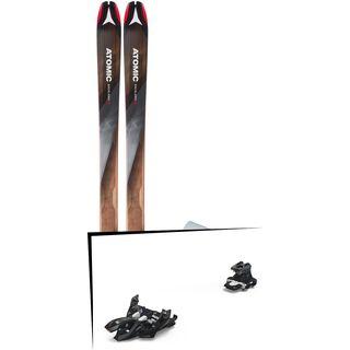 Set: Atomic Backland 95 + Hybrid Skin 95 2019 + Marker Alpinist 9 black/titanium