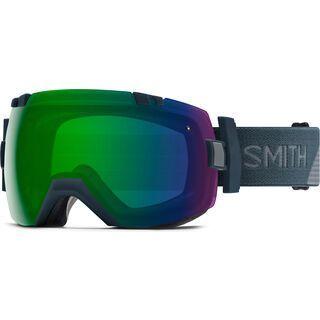 Smith I/OX inkl. Wechselscheibe, thunder split/Lens: chromapop everyday green mirror - Skibrille