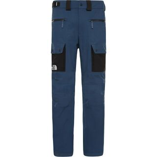 The North Face Mens Slashback Cargo Pant, blue/tnf black - Skihose