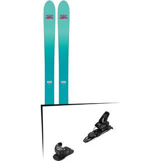 Set: DPS Skis Nina F99 Foundation 2018 + Salomon Warden MNC 11 black