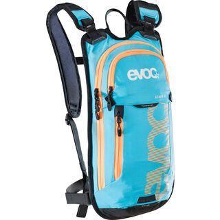 Evoc Stage 3l + Hydration Bladder 2l, neon blue - Fahrradrucksack