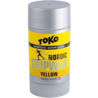 Toko Nordic GripWax, yellow - Steigwachs
