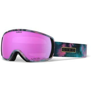 Giro Facet, bleached out/Lens: vivid pink - Skibrille