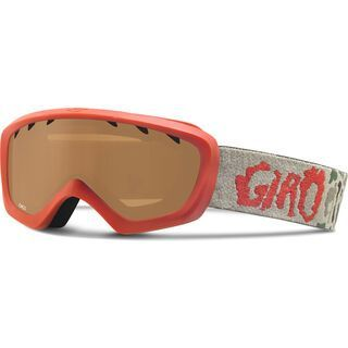 Giro Chico, glowing red camo/amber rose - Skibrille