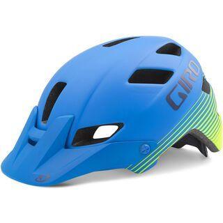 Giro Feature, matte blue lime - Fahrradhelm