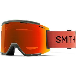 Smith Squad MTB XL + WS, sage red rock/Lens: cp everyday red mir - MX Brille