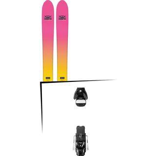 Set: DPS Skis Yvette 112 RP2 Foundation 2018 + Atomic STH 13 WTR black/gun metal