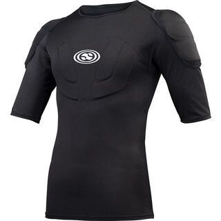 IXS Hack Protection Jersey, black - Protektorenshirt