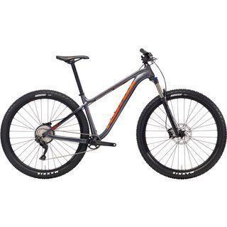 Kona Honzo AL 2018, charcoal/black/orange - Mountainbike