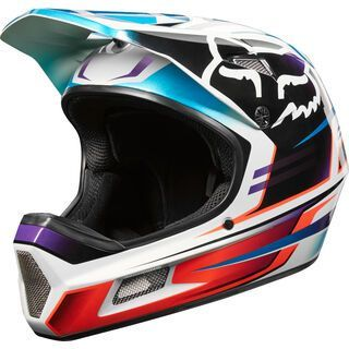 Fox Rampage Comp Helmet Reno, iced - Fahrradhelm