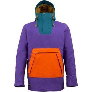 Burton Restricted Salt Shaker Jacket, Royale Colorblock - Snowboardjacke