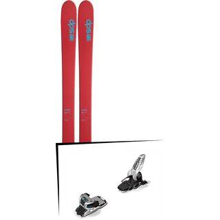 DPS Skis Set: Wailer 105 Hybrid T2 2016 + Marker Griffon 13