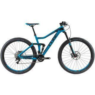 Cube Stereo 140 HPC Race 29 2014, blue/black - Mountainbike
