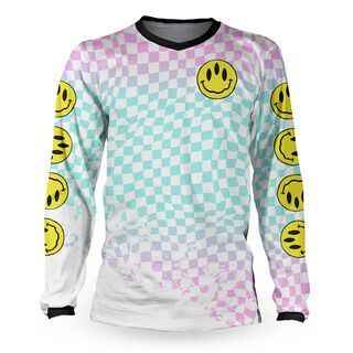 Loose Riders Cult of Shred Jersey LS Stoked! 80's - Radtrikot