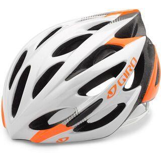 Giro Monza, fluorescent orange/white - Fahrradhelm