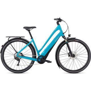 Specialized Turbo Como 4.0 Low Entry 2020, aqua/black - E-Bike