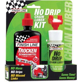 Finish Line No Drip Chain Luber Kit Dry Lube - Kettenschmiermittel