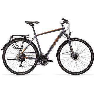 Cube Touring SL 2016, grey black copper - Trekkingrad