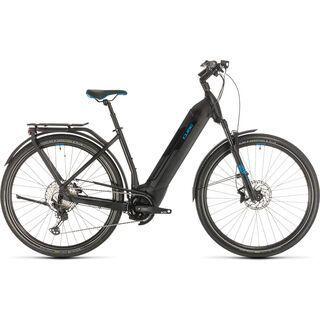 Cube Kathmandu Hybrid SL Easy Entry 2020, black´n´blue - E-Bike