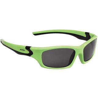 Alpina Flexxy Teen, green black/Lens: ceramic mirror black - Sportbrille