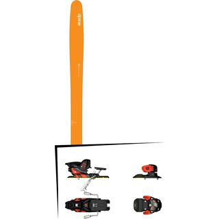 DPS Skis Set: Wailer 99 Hybrid 2016 + Salomon Warden MNC 13