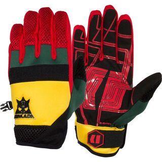 Armada Throttle Pipe Glove, rasta - Skihandschuhe